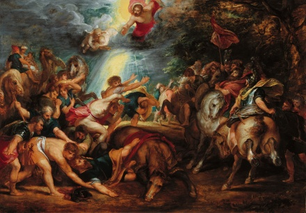 Conversion of the apostle Paul by Rubens cir. 1601-02