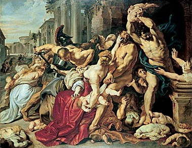 Massacre of the Innocents by Peter Paul Rubens 1610