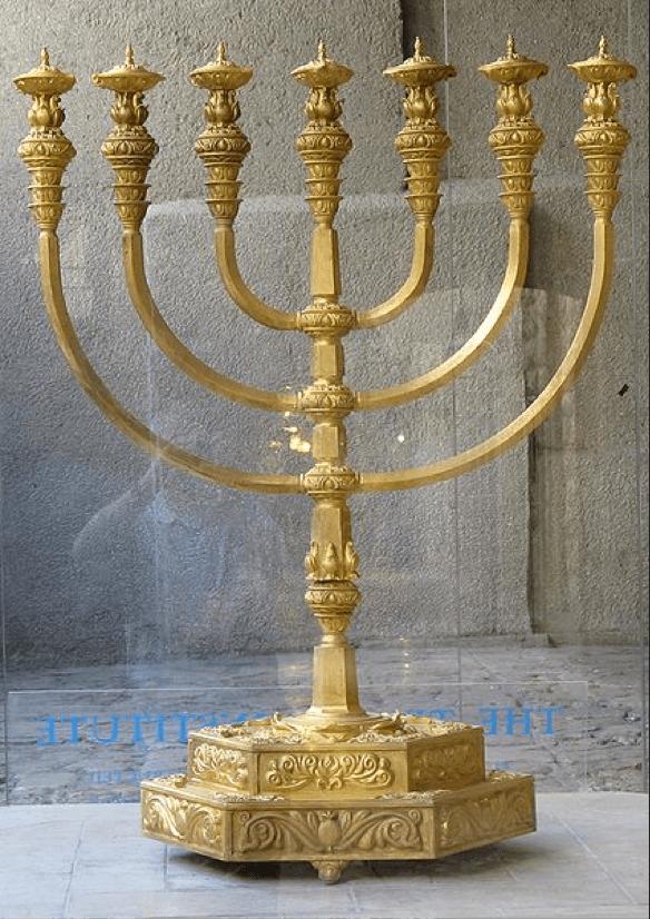 Menorah from the Temple Institute in Jerusalem