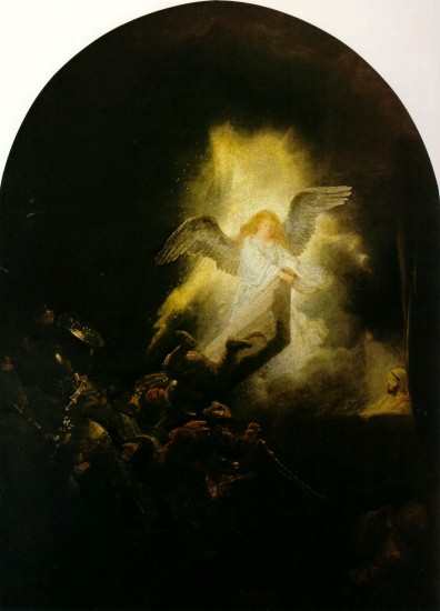 The Resurrection of Christ by Rembrandt Cir 1635-39