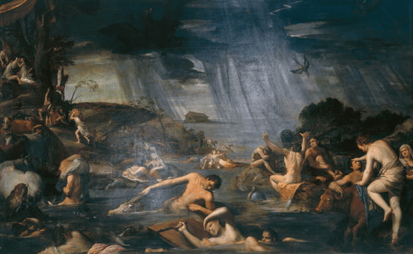 Noah's Flood Artist Unknown