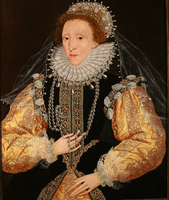Queen Elizabeth I Cir. 1588 Artist Unknown.