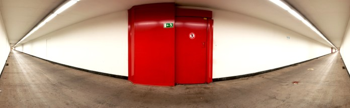 Cyclists tunnel @Antwerp