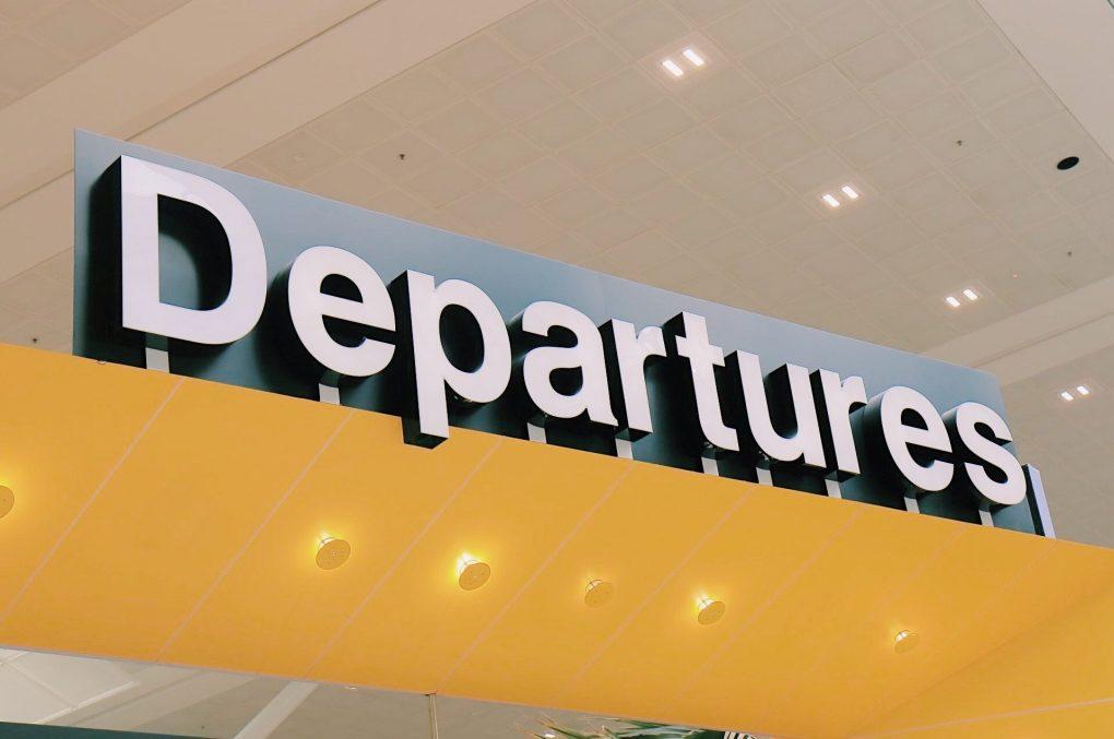 出発ロビー 空港 旅 海外旅行
