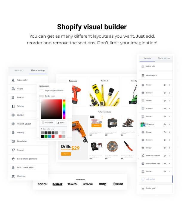 Pixee - Tools Store Shopify Theme - 5