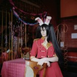 Mariya Kozhanova, Red Bunny, 2012, from Declared Detachment series