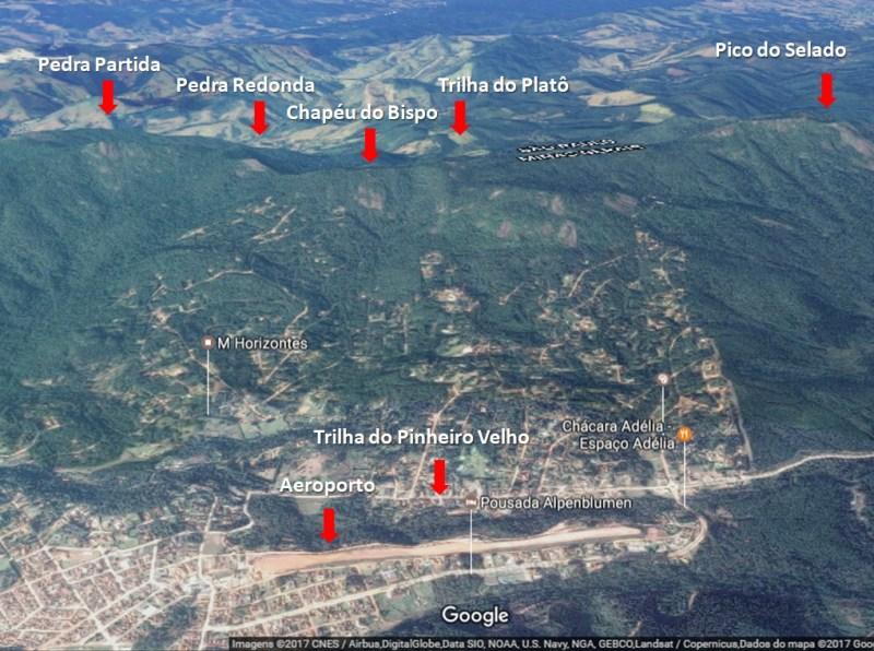 Monte Verde Google Maps