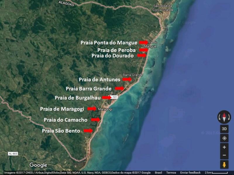 Maragogi Google Maps