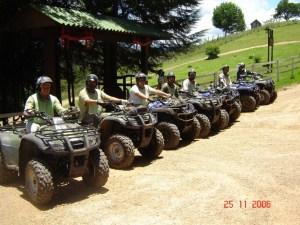 Quadriciclo em Monte Verde - Por Documento de Viagem (Foto: Verde Rumo - Expedição Haras 25/11/2006)