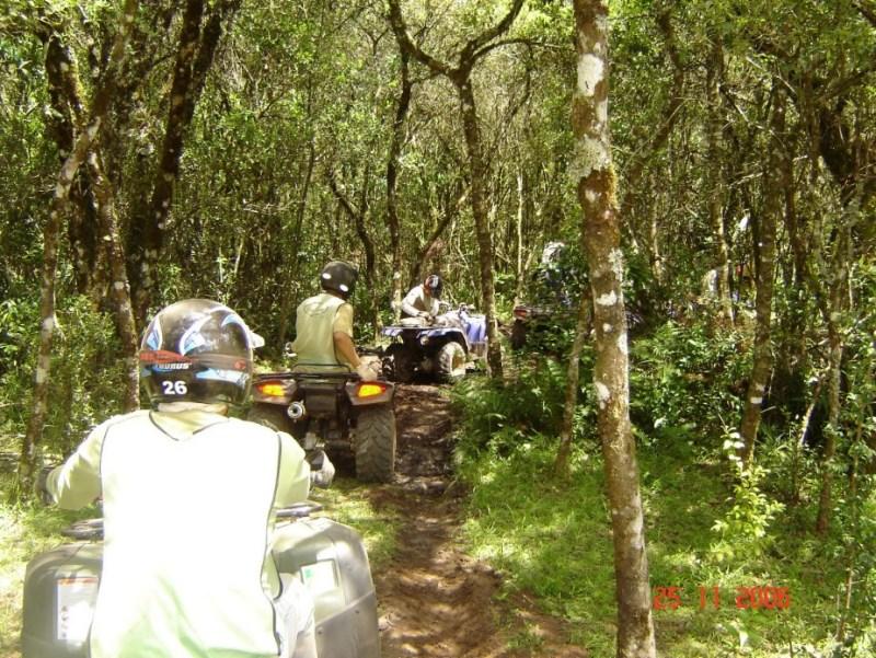 Quadriciclo em Monte Verde