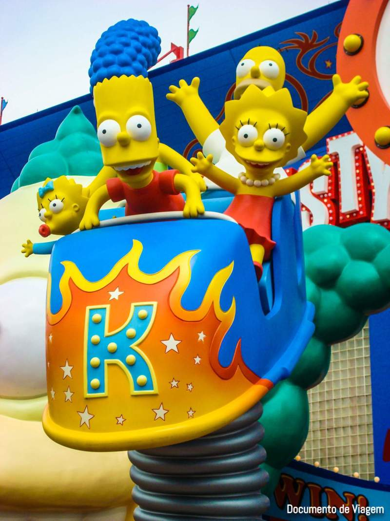 Universal Studios Orlando – The Simpsons Ride