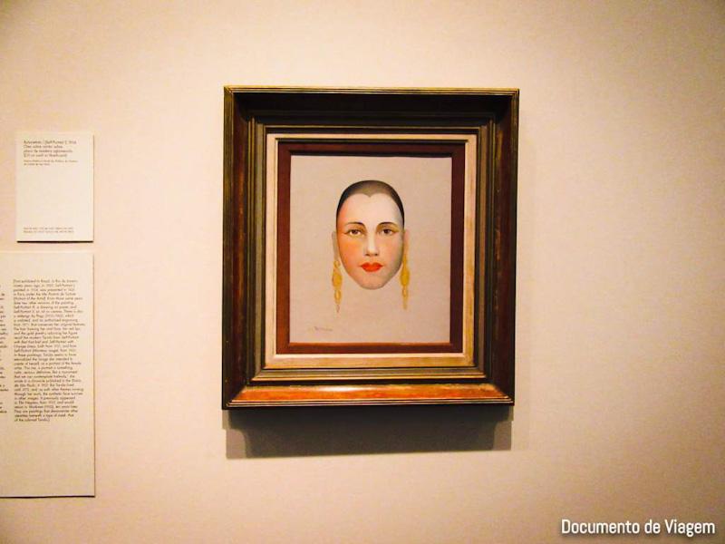 Auto-retrato - Tarsila do Amaral (1924)