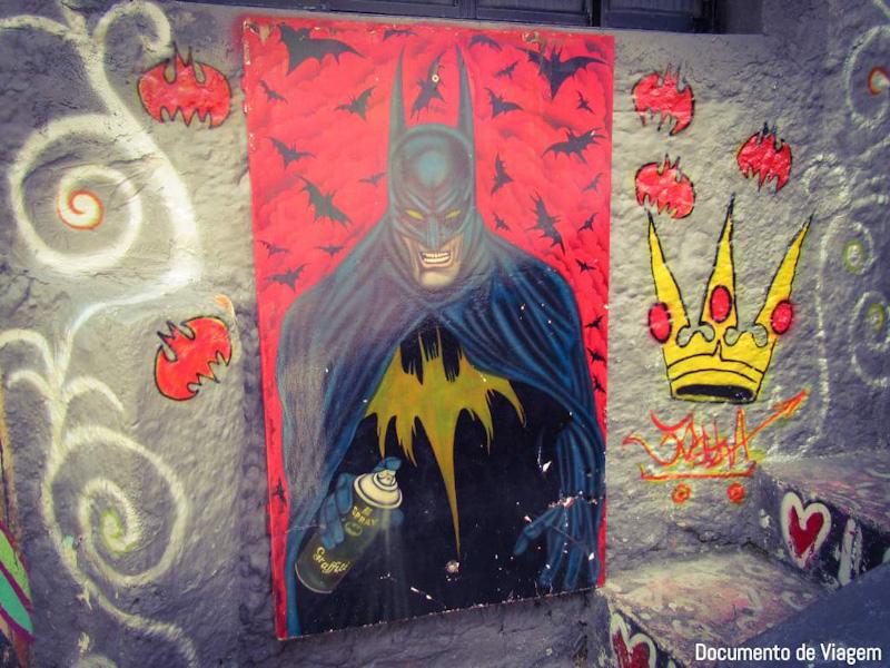 Arte e grafite na Vila Madalena SP