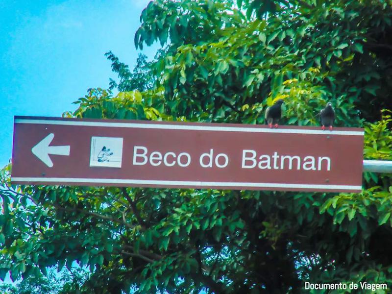 Beco do Batman São Paulo