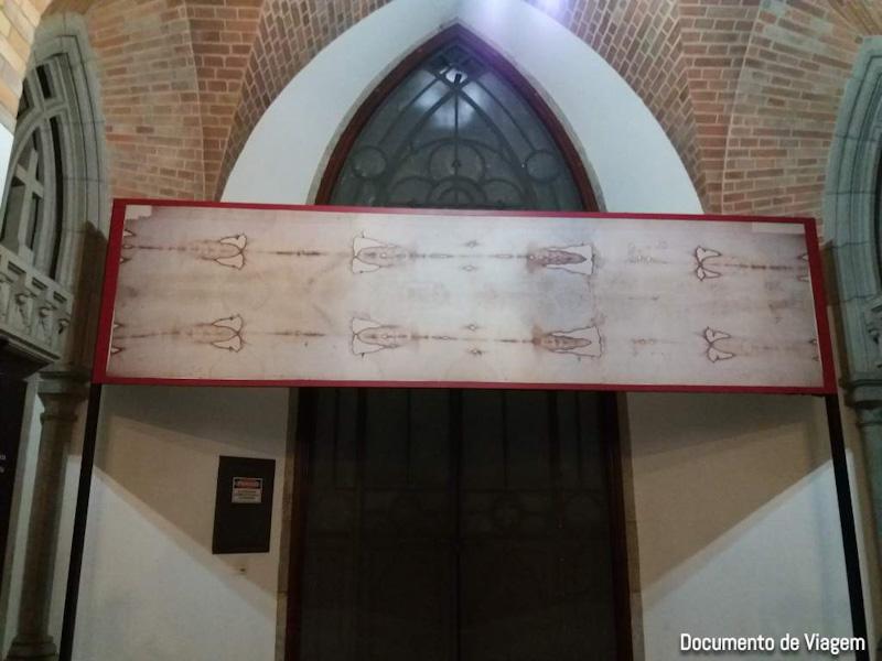 Réplica do lençol Jesus Cristo