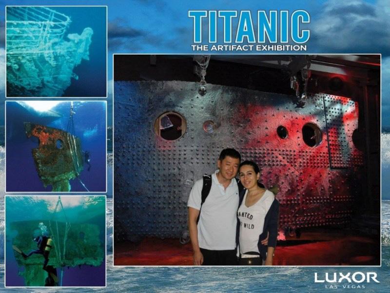 Foto: Titanic The Artifact Exhibition/Luxor Las Vegas