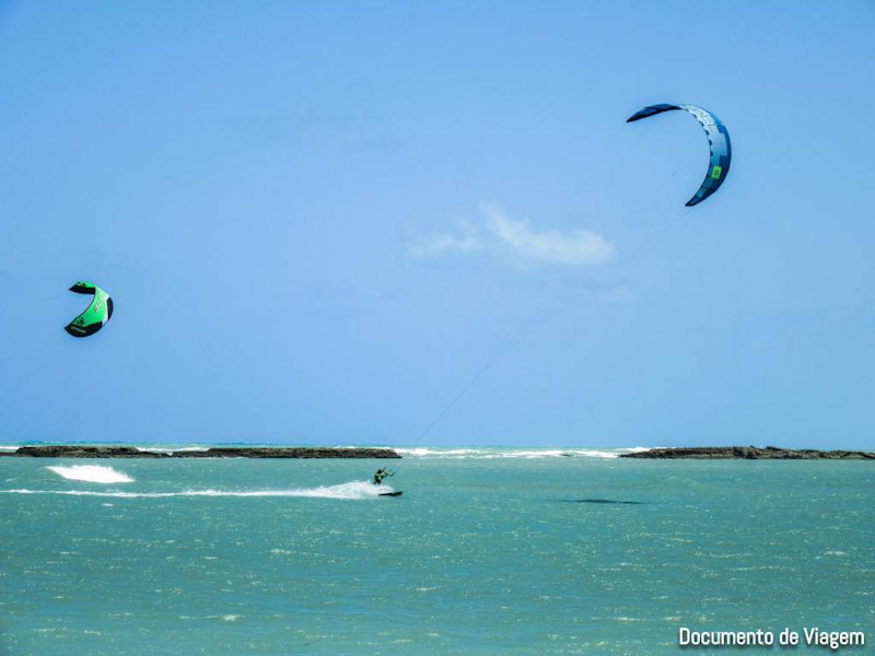 Kite surf wind surf Barra do Cunhau