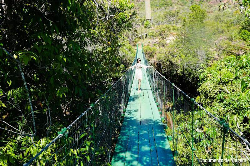 Ponte do Pedro Pedra Caída