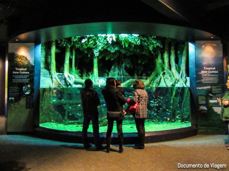 Maior aquário do Canadá