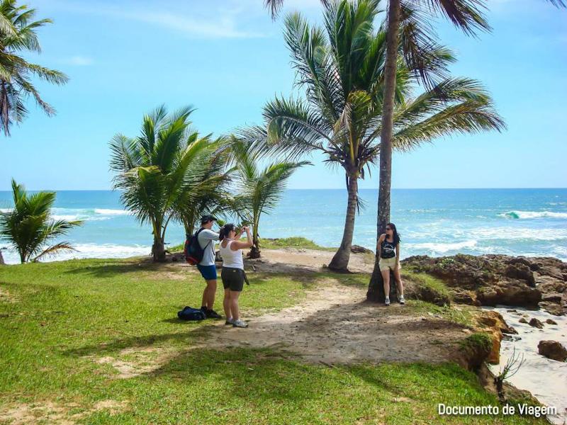 Praia de Jeribucaçu Itacaré