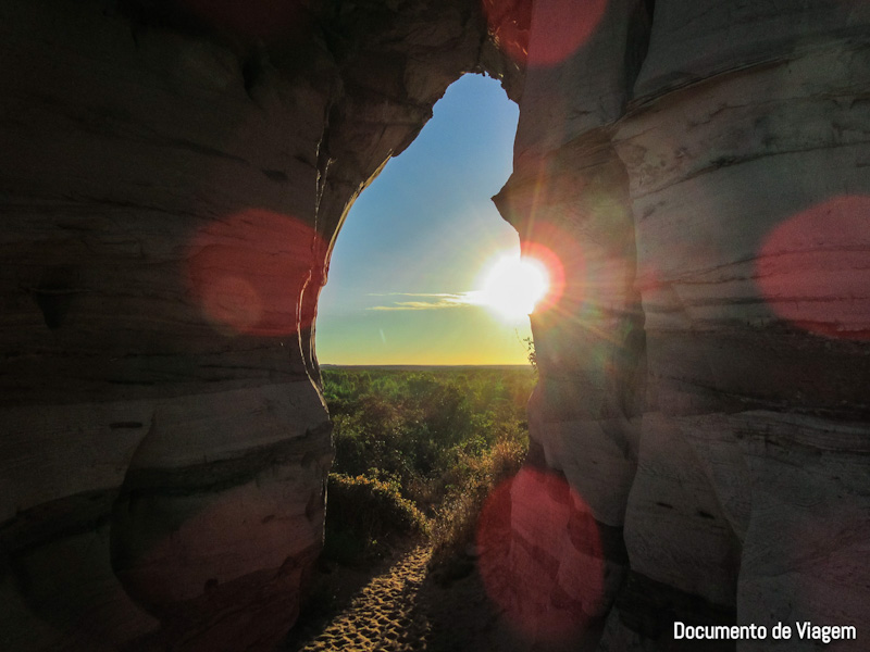 Pôr do Sol Pedra Furada