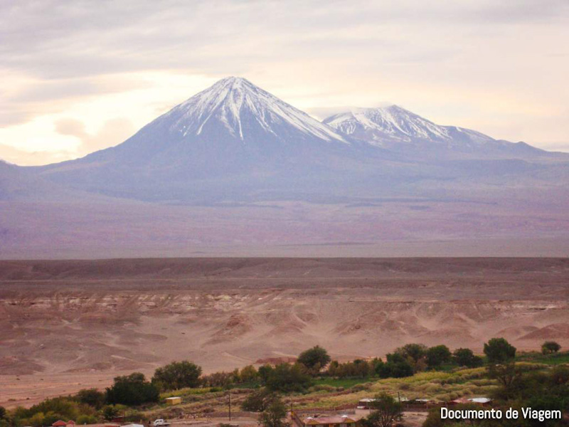 Vulcão Licancabur Pukara de Quitor