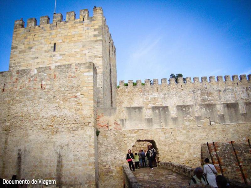 Como ir Castelo de São Jorge