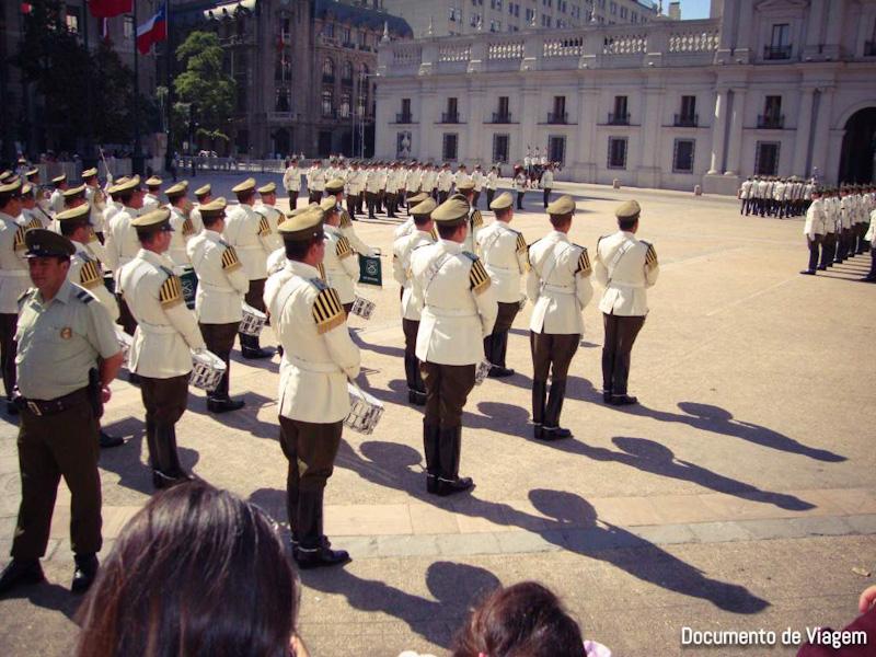 Palácio de la Moneda visitas