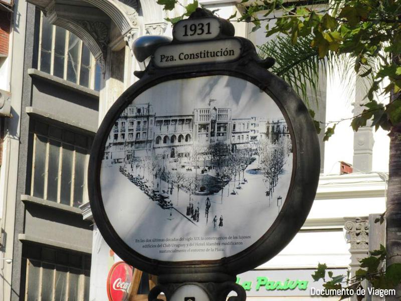 Plaza Constituición Montevidéu