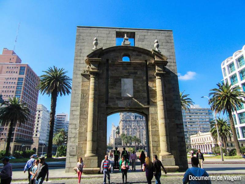 Puerta de La Ciudadela Montevidéu