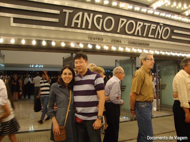 Tango Porteño onde fica