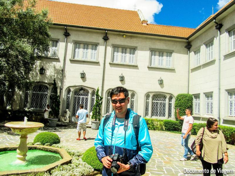 Palácio Boa Vista visita
