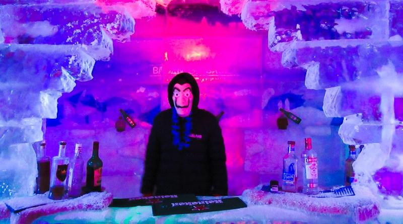 Bar de Gelo em Campos do Jordão