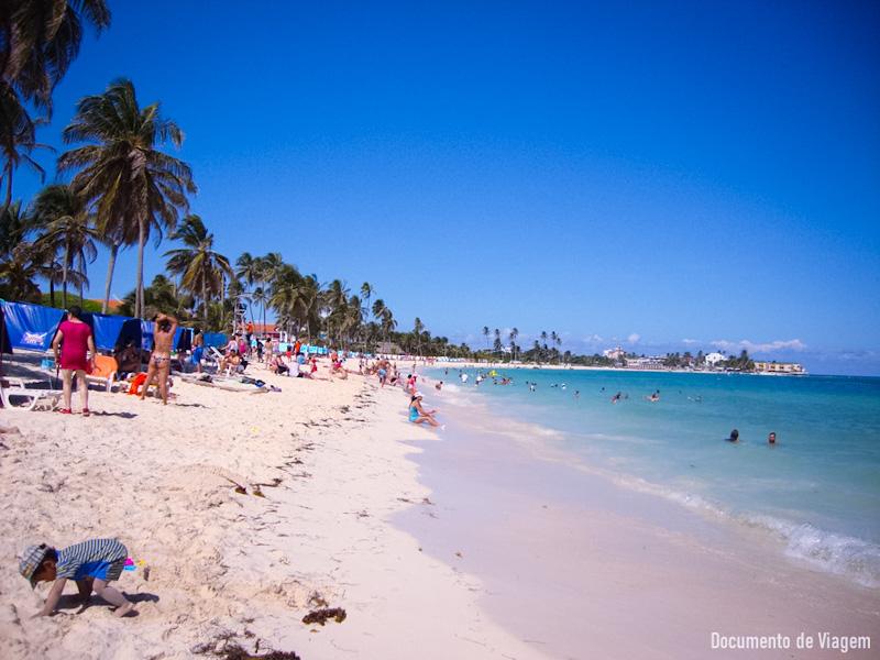 Playa Peatonal San Andrés