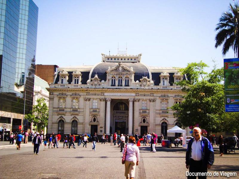 Prédio dos Correios Santiago do Chile