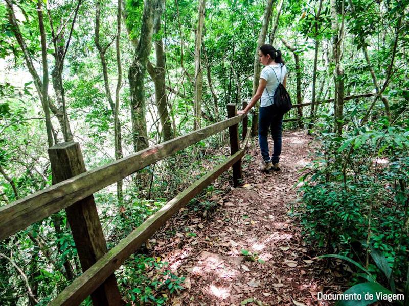 Ecoparque Sperry trilhas cascatas mirantes