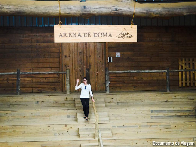 História do gaúcho Parque Gaúcho