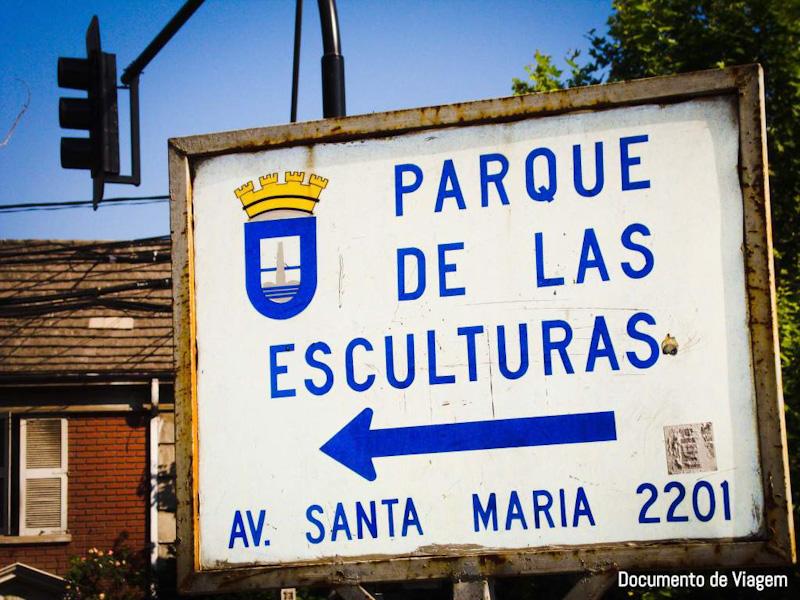 Parque das Esculturas Santiago do Chile