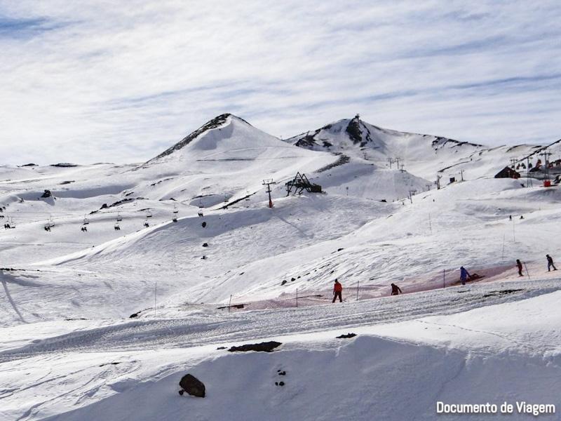Centros de esquis Chile