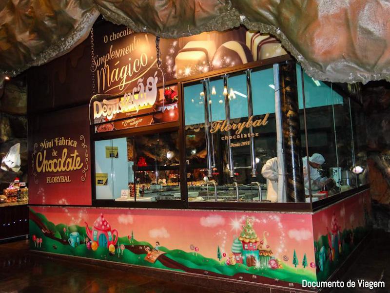 Mini fábrica de chocolate Florybal