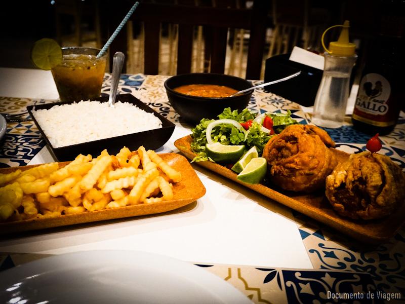 Peixe bola restaurante Caramujo Paraty