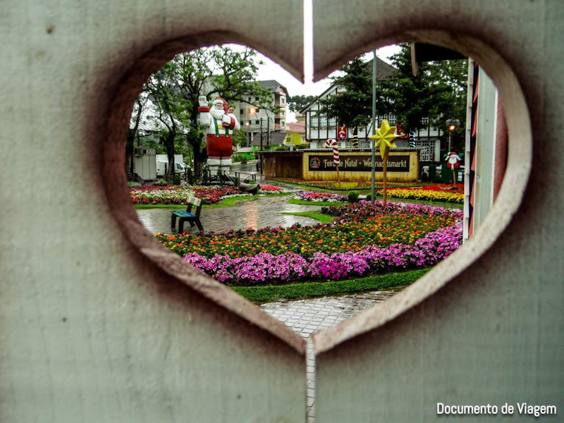 Praça das Flores Nova Petrópolis