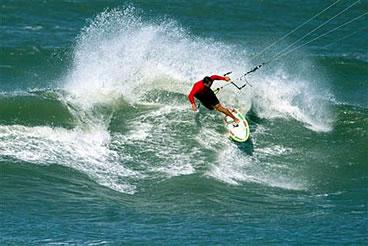 Kitesurf Praia de Ibiraquera