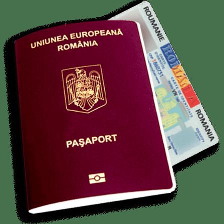Aplicați pentru un pașaport real românesc UE fără strămoși români – Documente românești