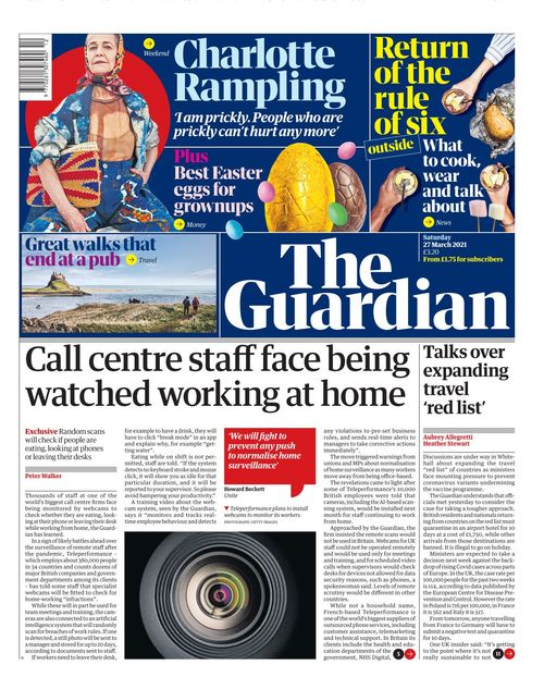 the guardian 2021 03 27