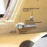 Exterior-door-lock
