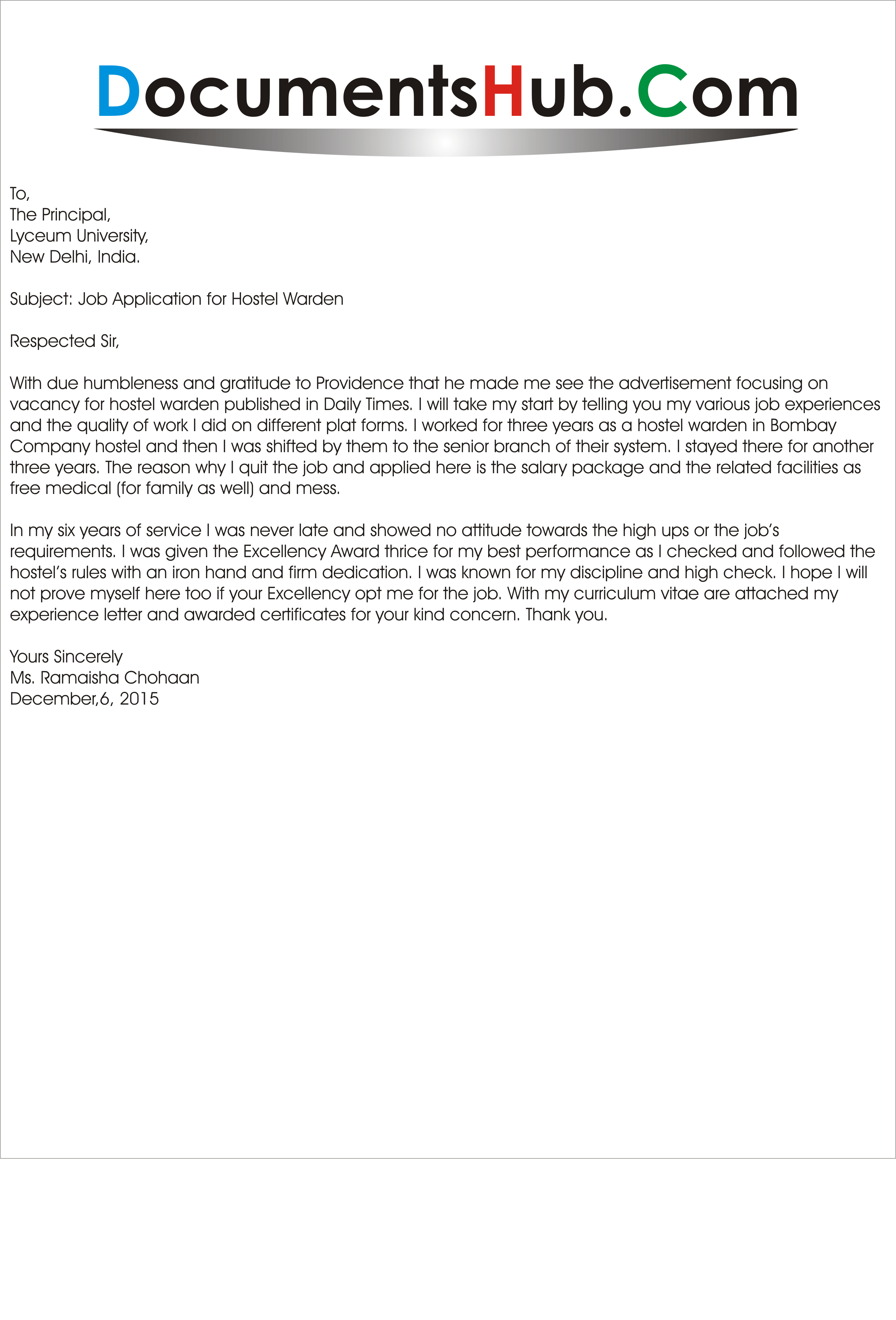 Cover letter examples for casino job