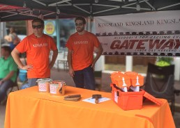 Sponsor and vendor of Lafayette Square stage of Gateway Cup criterion bicycle race.