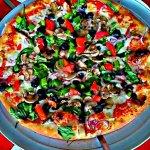 Danielle's pizza city veggie pizza