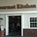 Gourmet Kitchen sign